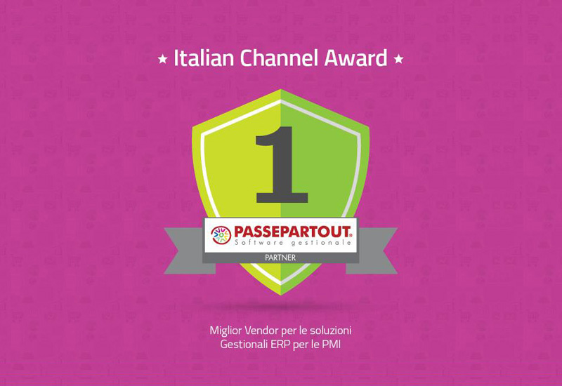 Italian Channel Award Passepartout