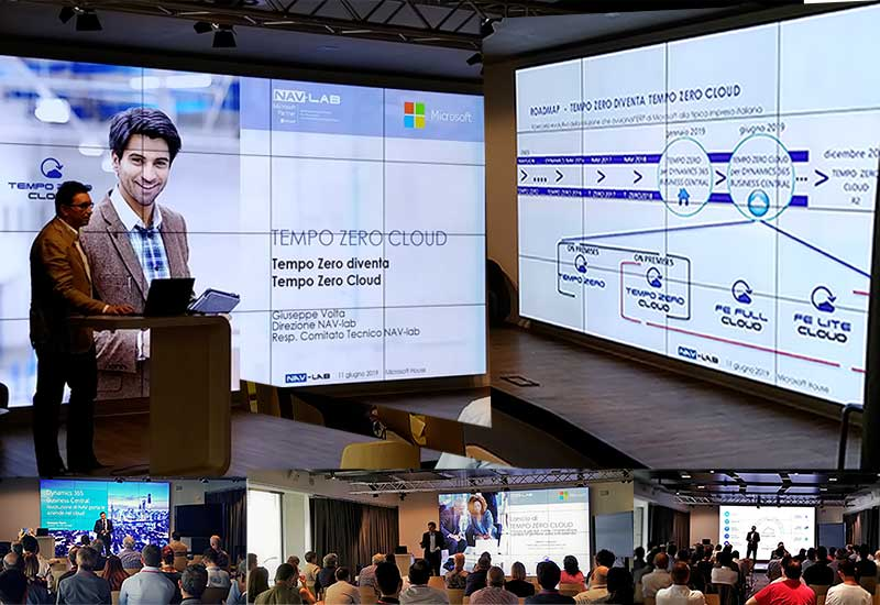 Evento Microsoft House NAV-lab Tempo Zero Cloud
