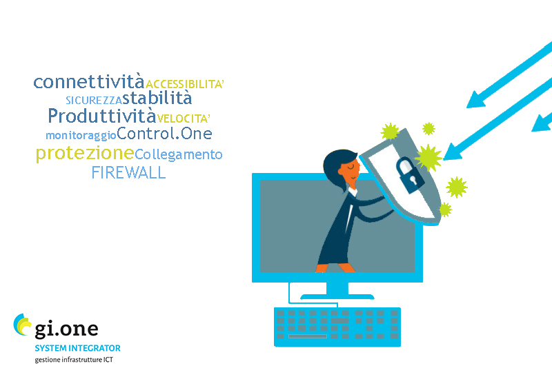 GI.ONE firewall sicurezza