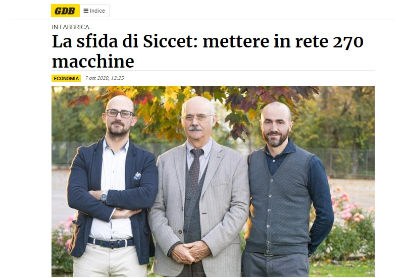 Industria 4.0 Ingest e Siccet